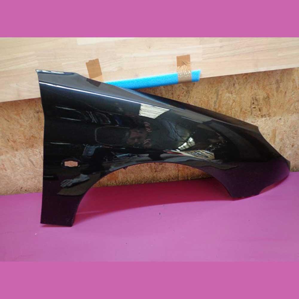 aile avant droite passager peugeot 206 noir onyx code couleur exy ebay. Black Bedroom Furniture Sets. Home Design Ideas