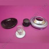 Kit membrane aspirante pour filtre à gasoil BOSCH / PURFLUX pour Abarth