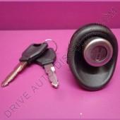 Barillet de coffre avec poussoir pour Dacia Logan