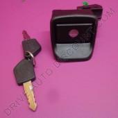 Barillet de coffre avec poussoir pour Peugeot 306
