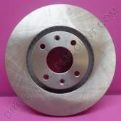 Jeu de disques de freins pour Citroen DS4 1.2
