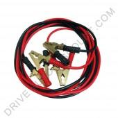 Cables de démarrage de batterie diamètre 25 mm longueur 3,5 mètres