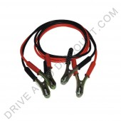 Cables de démarrage de batterie diamètre 7,5 mm longueur 2,5 mètres