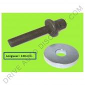Visserie spécifique - kit accessoires pour poulie damper, BMW X3 1.8 D de 01/04 à 12/11