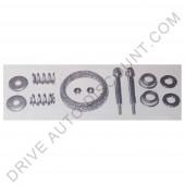 Kit montage pour collecteurs d'échappement 60 mm, Peugeot 205 1.7 D de 90 à 01/99