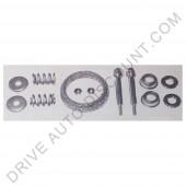 Kit montage pour collecteurs d'échappement 60 mm, Peugeot 405 1.4
