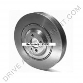 Poulie de Vilebrequin / Damper Alfa Romeo 159 1.9 JTDM 16V de 9/05 à 11/11