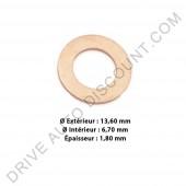 Joints d'injecteurs cuivre (sachet de 10) pour Hyundai 1.4 HDI