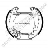 Kit de frein prémonté, Citroen AX 1.4 GTI 94-100 cv avant 07/96