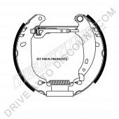 Kit de frein prémonté - Peugeot 206 1.4 HDI eco 70 cv de 03/02 à 12/10
