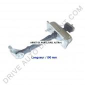 Arrêt - Tirant de porte pour Opel Astra J de 12/09 à 12/15
