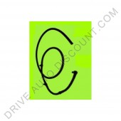 Rampe de retour Tube d'injection Fiat Ducato 2.3 JTD de 04/02 à 12/14