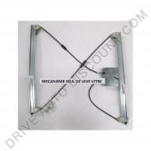 Mécanisme de lève-vitre électrique avant gauche, Renault Espace IV de 12/02 à 12/06