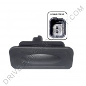Bouton contacteur extérieur (dé)verouillage électrique de coffre Renault Clio 4 IV depuis 11/12