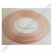 Conduite de frein en cuivre et nickel à découper (10 mètres) - Diam 4,75 mm