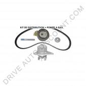 Kit de distribution complet avec pompe à eau - Peugeot 207 1.1 de 03/06 à 03/15