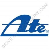 Jeu de disques de freins avant Ate pour Citroen C-Elysée 1.6 Hdi