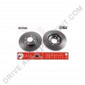 Jeu de disques de freins avant, TRW, Renault Megane I 1.6 i / 75cv de 01/96 à 02/99