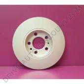 Jeu de disques de freins avant, Skoda Fabia II 1.2 TSi / 86 cv de 03/10 à 12/14