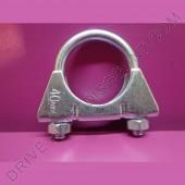 1 collier de tube d'échappement diamètre 40 mm