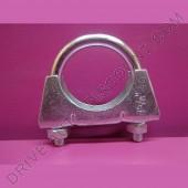 1 collier de tube d'échappement diamètre 43 mm