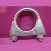 1 collier de tube d'échappement diamètre 51 mm