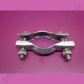 1 collier bicone pour collecteur d'échappement diamètre 48 mm