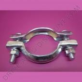 1 collier bicone pour collecteur d'échappement diamètre 69 mm