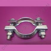 1 collier bicone pour collecteur d'échappement diamètre 53 mm