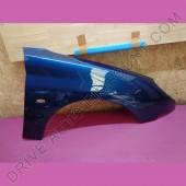Aile avant droite passager - Peugeot 206 Bleu de Chine code couleur EGE