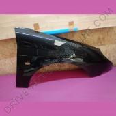 Aile avant droite passager - Peugeot 206 Noir Onyx code couleur EXY