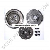 Kit d'embrayage 3 pièces avec volant moteur rigide sans butée Mercedes Benz Sprinter 208 CDI 04/00 à 05/06