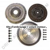 Kit d'embrayage 3 pièces avec volant moteur rigide sans butée Audi A3 1.9 TDI 130 cv 08/00 à 05/03 - BVM6
