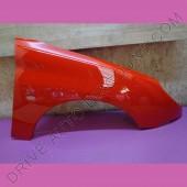 Aile avant droite passager - Peugeot 206 Rouge Aden code couleur KKN