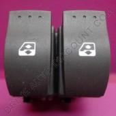 Contacteur bouton de lève-vitres électrique avant - Renault Clio 2 II Confort