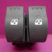 Contacteur bouton de lève-vitres électrique avant Renault Clio 2 II non confort