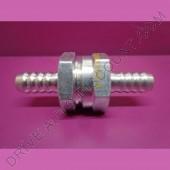 Clapet anti-retour gasoil diamètre 8 mm en aluminium