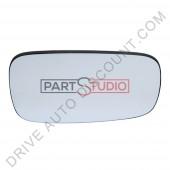 Glace de rétroviseur gauche d'origine conducteur, Renault Scenic de 06/03 à 03/09