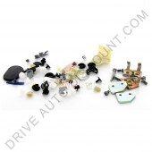 Kit d'agrafes pour portes Renault Clio II Phase I de 98 à 01
